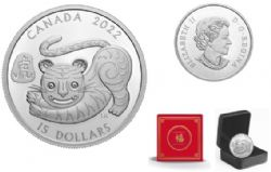 LUNAR YEAR -  YEAR OF THE TIGER -  2022 CANADIAN COINS 01