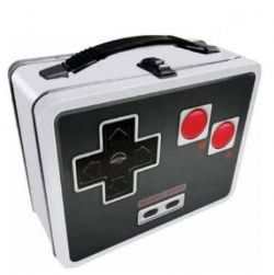 LUNCH BOX -  LUNCHBOX METAL - NES CONTROLLER