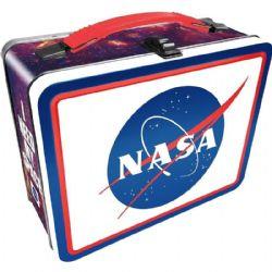 LUNCH BOX -  METAL - NASA