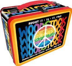 LUNCH BOX -  METAL - WOODSTOCK