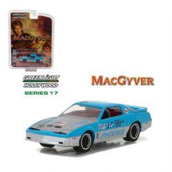 MACGYVER -  1987 PONTIAC FIREBIRD 1/64 - BLUE 17