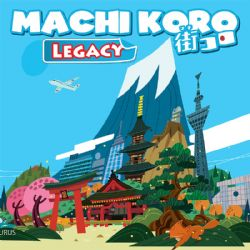 MACHI KORO : LEGACY -  BASE GAME (ENGLISH)