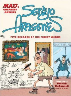 MAD'S GREATEST -  USED SERGIO ARAGONES - FIVE DECADES OF HIS FINEST WORKS HC (ENGLISH)