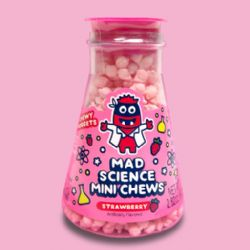 MAD SCIENCE -  MINI CHEWS - STRAWBERRY