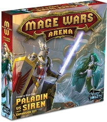 MAGE WARS -  MAGE WARS ARENA - PALADIN VS SIREN EXPANSION SET