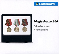 MAGIC FRAME -  FLOATING FRAME FOR COINS DISPLAYING (7