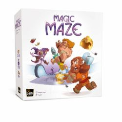 MAGIC MAZE -  BASE GAME (ENGLISH)