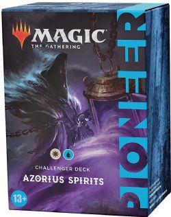 MAGIC THE GATHERING -  AZORIUS SPIRITS (ENGLISH) -  PIONEER CHALLENGER DECK 2021