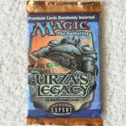MAGIC THE GATHERING -  BOOSTER PACK (FRENCH) -  L'HÉRITAGE D'URZA