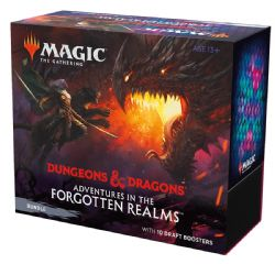 MAGIC THE GATHERING -  BUNDLE - 10 DRAFT BOOSTER PACK (ENGLISH) -  ADVENTURES IN THE FORGOTTEN REALMS