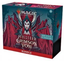 MAGIC THE GATHERING -  BUNDLE - 8 DRAFT BOOSTER PACK (ENGLISH) -  INNISTRAD CRIMSON VOW