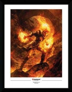 MAGIC: THE GATHERING -  CHANDRA NALAAR - COLLECTOR PRINTS (13