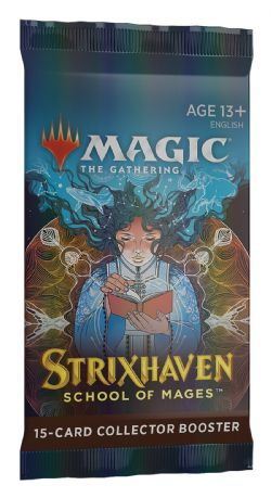 MAGIC THE GATHERING -  COLLECTOR BOOSTER PACK (P16/B12/C24) (ENGLISH) -  STRIXHAVEN SCHOOL OF MAGES