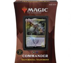 MAGIC THE GATHERING -  COMMANDER 2021 - SILVERQUILL STATEMENT (ENGLISH) -  STRIXHAVEN SCHOOL OF MAGES