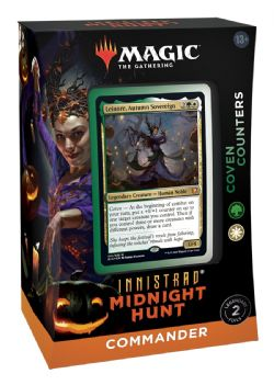 MAGIC THE GATHERING -  COVEN COUNTERS - COMMANDER DECK (ENGLISH) -  INNISTRAD MIDNIGHT HUNT