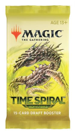 MAGIC THE GATHERING -  DRAFT BOOSTER PACK (ENGLISH) -  TIME SPIRAL REMASTERED