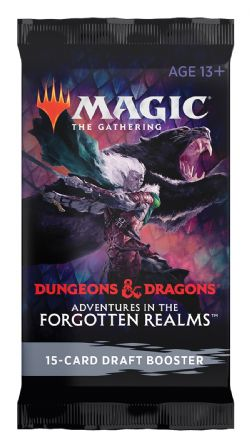 MAGIC THE GATHERING -  DRAFT BOOSTER PACK (P15/B36/C6) (ENGLISH) -  ADVENTURES IN THE FORGOTTEN REALMS