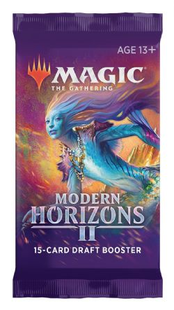 MAGIC THE GATHERING -  DRAFT BOOSTER PACK (P15/B36/C6) (ENGLISH) -  MODERN HORIZON II