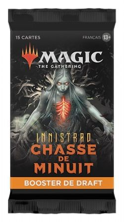 MAGIC THE GATHERING -  DRAFT BOOSTER PACK (P15/B36/C6) (FRENCH) -  INNISTRAD CHASSE DE MINUIT