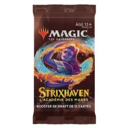 MAGIC THE GATHERING -  DRAFT BOOSTER PACK (P15/B36/C6) (FRENCH) -  STRIXHAVEN SCHOOL OF MAGES