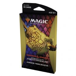MAGIC THE GATHERING -  DUNGEON THEME BOOSTER (ENGLISH) (35) -  ADVENTURES IN THE FORGOTTEN REALMS