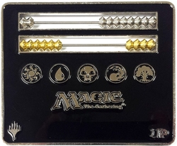 MAGIC THE GATHERING -  LIFE COUNTER - ABACUS - BLACK