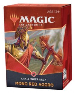 MAGIC THE GATHERING -  MONO RED AGGRO (ENGLISH) -  CHALLENGER DECKS 2021