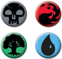 MAGIC THE GATHERING -  MYSTERY BUTTON (1