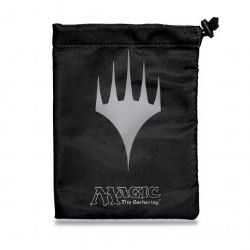 MAGIC THE GATHERING -  PLANESWALKER DICE POUCH - BLACK (6