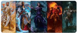 MAGIC THE GATHERING -  PLANESWALKERS - PLAYMAT - 8