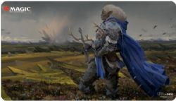 MAGIC THE GATHERING -  PLAYMAT - COMMANDER GALEA, KINDLER OF HOPE -  ADVENTURES IN THE FORGOTTEN REALMS