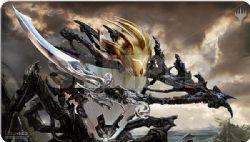 MAGIC THE GATHERING -  PLAYMAT - KALDRA COMPLEAT -  MODERN HORIZON II