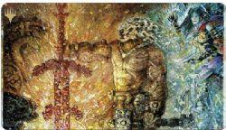 MAGIC THE GATHERING -  PLAYMAT - PROFANE TUTOR -  MODERN HORIZON II