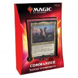 MAGIC THE GATHERING -  SAGESSE INTEMPORELLE - COMMANDER DECK (FRENCH) -  IKORIA