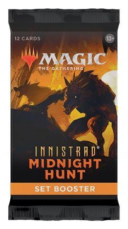 MAGIC THE GATHERING -  SET BOOSTER PACK (P12/B30/C6) (ENGLISH) -  INNISTRAD MIDNIGHT HUNT