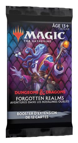 MAGIC THE GATHERING -  SET BOOSTER PACK (P15/B30/C6) (FRENCH) -  FORGOTTEN REALMS : AVENTURES DANS LES ROYAUMES OUBLIÉS