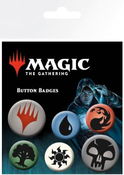 MAGIC : THE GATHERING -  SET OF 6 PINS