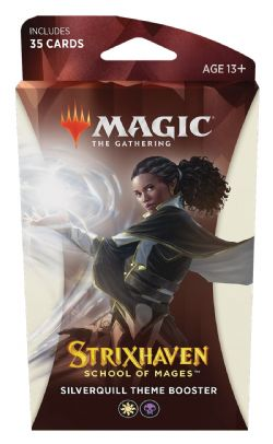 MAGIC THE GATHERING -  SILVERQUILL THEME BOOSTER (ENGLISH) (35) -  STRIXHAVEN SCHOOL OF MAGES