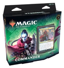 MAGIC THE GATHERING -  SNEAK ATTACK - COMMANDER DECK (ENGLISH) -  ZENDIKAR RISING