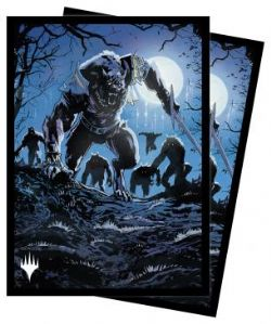 MAGIC THE GATHERING -  STANDARD SIZE SLEEVES - TOVOLAR, THE MIDNIGHT SCOURGE (100) -  INNISTRAD MIDNIGHT HUNT