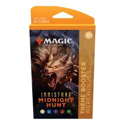 MAGIC THE GATHERING -  WEREWOLVES THEME BOOSTER (ENGLISH) (35) -  INNISTRAD MIDNIGHT HUNT