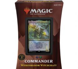 MAGIC THE GATHERING -  WITHERBLOOM WITCHCRAFT - COMMANDER DECK (ENGLISH) -  STRIXHAVEN SCHOOL OF MAGES