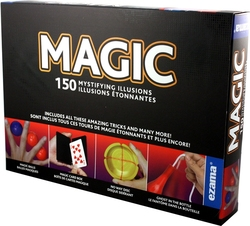 MAGIC TRICKS ACCESSORIES -  150 MYSTIFYING ILLUSIONS (MULTILINGUAL)