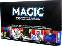 MAGIC TRICKS ACCESSORIES -  250 MYSTIFYING ILLUSIONS (MULTILINGUAL)