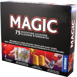 MAGIC TRICKS ACCESSORIES -  75 MYSTIFYING ILLUSIONS (MULTILINGUAL)