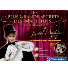 MAGIC TRICKS ACCESSORIES -  GREATEST MAGICIENS SECRETS - MAGIC JOURNAL (FRENCH)