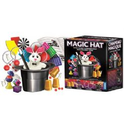 MAGIC TRICKS ACCESSORIES -  MAGIC HAT WITH SECRET COMPARTMENT (MULTILINGUAL)