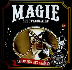 MAGIC TRICKS ACCESSORIES -  SPECTACULAR MAGIC - CHAIN ESCAPE