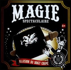 MAGIC TRICKS ACCESSORIES -  SPECTACULAR MAGIC - FINGER CUTTING ILLUSION
