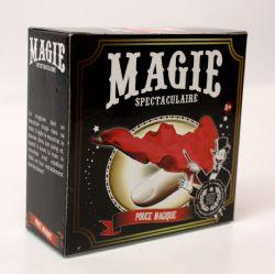 MAGIC TRICKS ACCESSORIES -  SPECTACULAR MAGIC - HANKY ROUTINE AND THUMB MAGIC